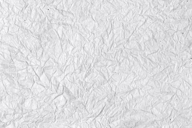 しわくちゃの白い紙