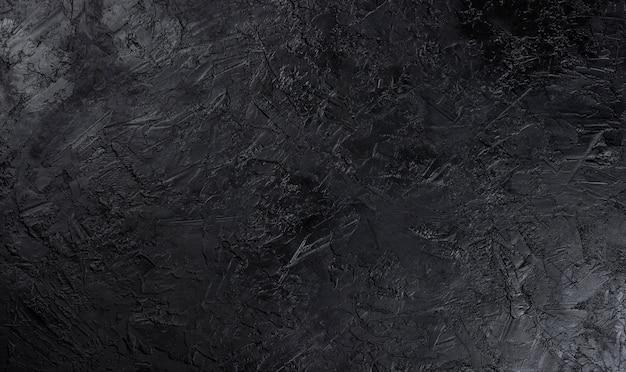 Черная каменная поверхность