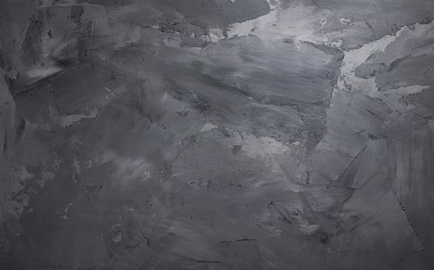 Серая цементная стена с лепниной, бетонное пространство