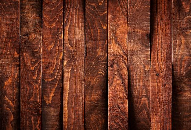 暗い木の板の背景