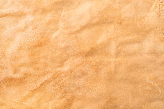 古いクラフト紙のテクスチャ、ヴィンテージ紙の背景、アンティークの紙