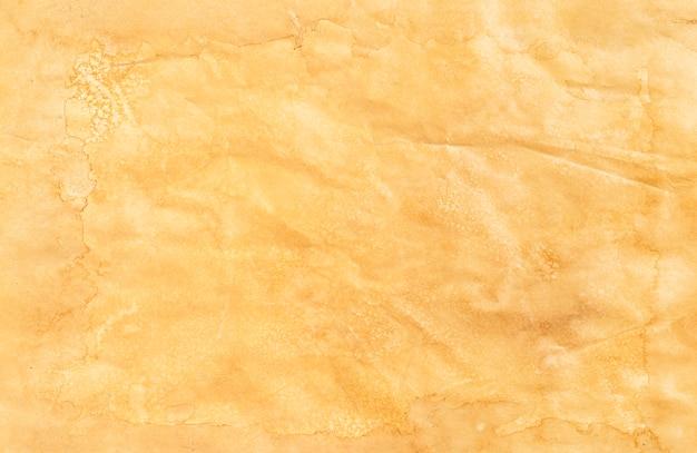 古い紙のテクスチャ、ヴィンテージ紙の背景、トップビュー