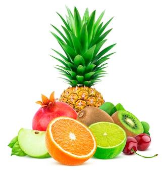 エキゾチックなフルーツの盛り合わせ