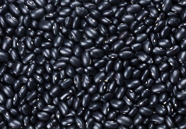 Черная текстура фасоли