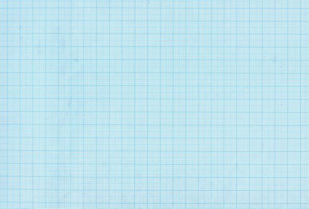 青いグラフ紙の質感