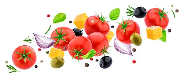 フライング野菜のサラダ