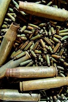 機関銃と大口径機関銃の袖。
