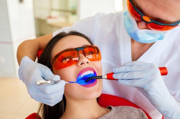 虫歯の治療、現代医学。