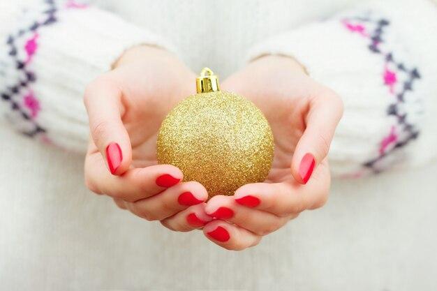 クリスマスの装飾要素