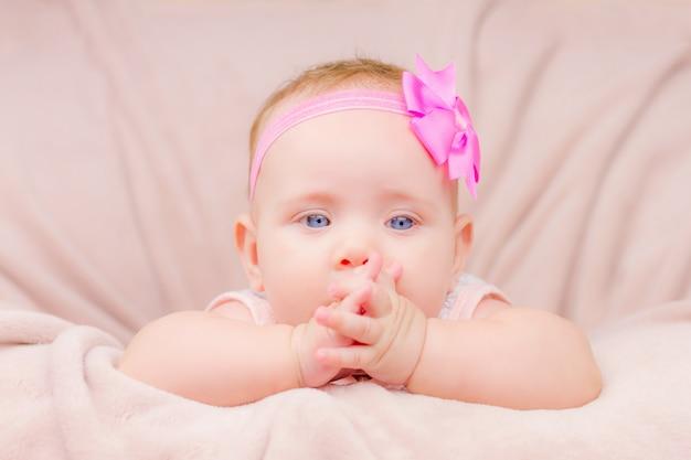 かわいい赤ちゃんの肖像画