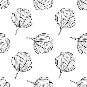 グラフィックの花