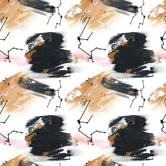 アクリルの黄道帯のしぶきパターン