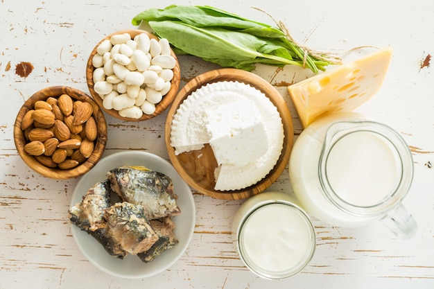 カルシウムが豊富な食品の選択