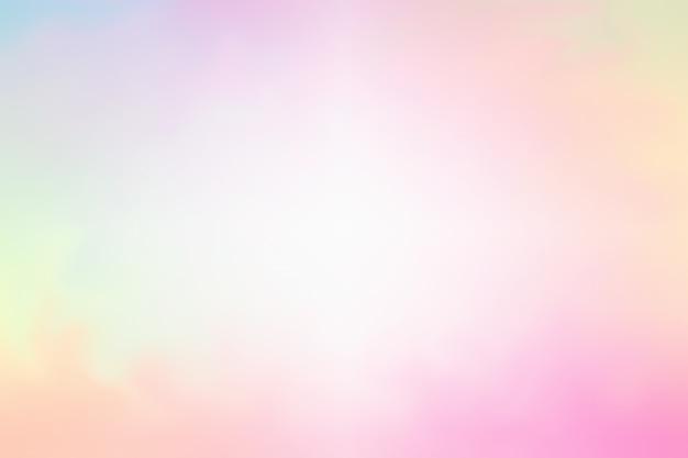 煙の抽象的な背景、明るいパステルカラー
