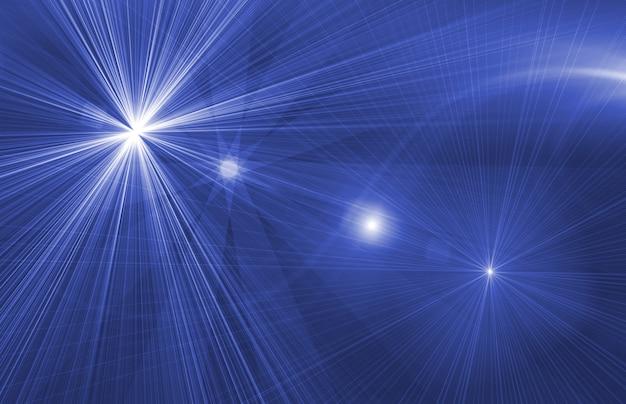 星の魔法の背景