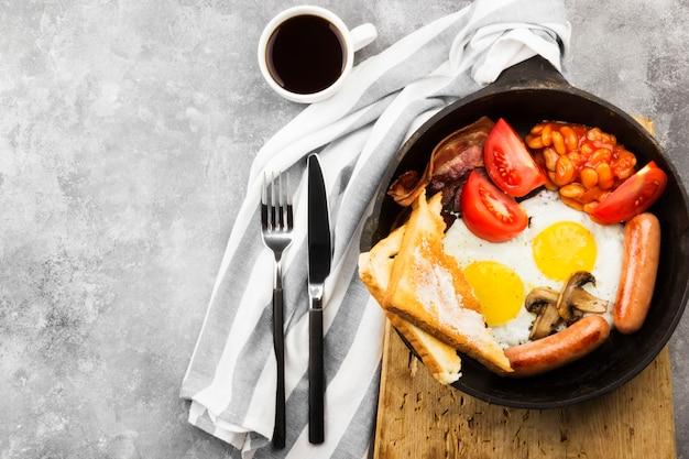 伝統的な英国式朝食