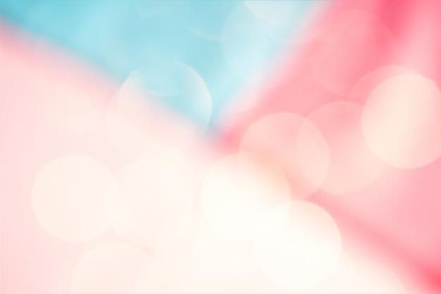抽象的な幾何学的なぼやけた光ボケ
