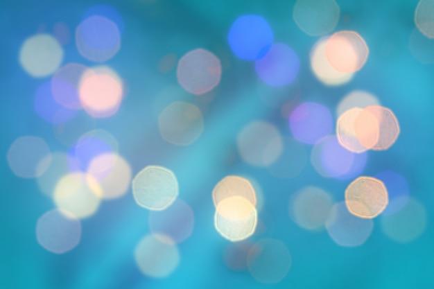 抽象的なダークブルーの色がぼやけ