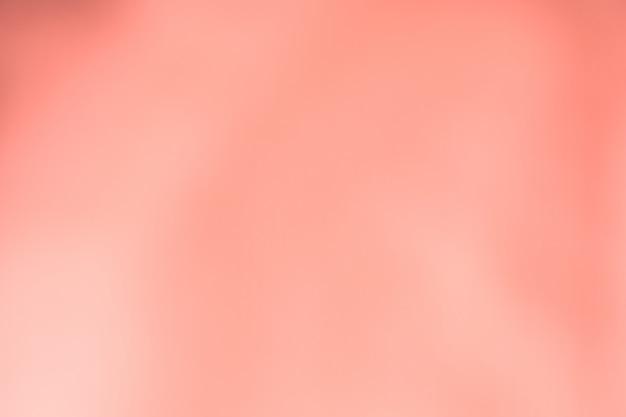 抽象的なサンゴピンク色がぼやけ