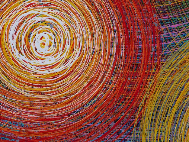 抽象的な線の質感とカラフルな背景。パーティーの背景