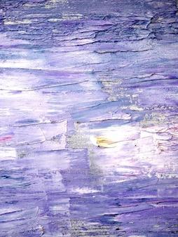 Фиолетовый цвет масляной краской абстрактный фон.