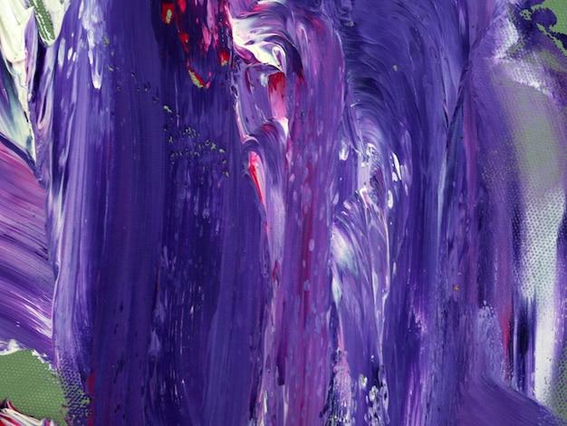 Фиолетовый цвет масляной краски абстрактный фон