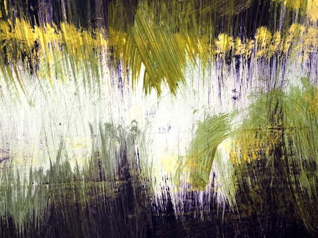 ブッシュストローク水色の抽象的な背景。