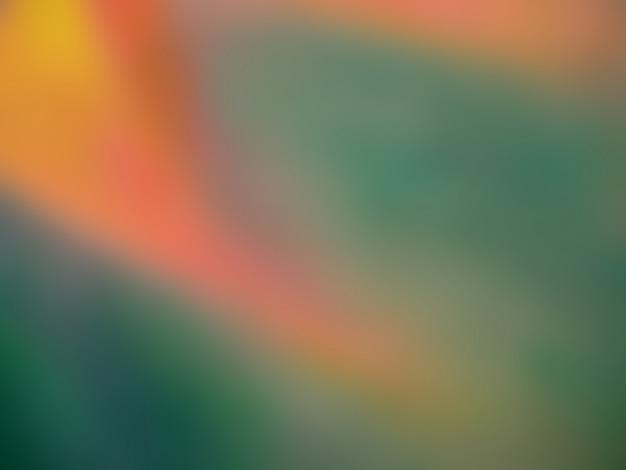 カラフルな油絵の具の抽象的な背景をぼかし。