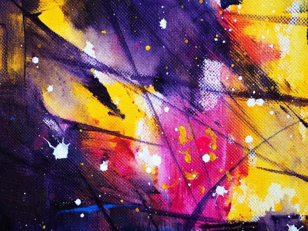 手描くカラフルな水彩の抽象的な背景と質感