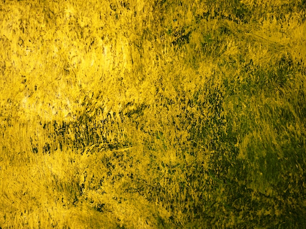 ペイントブラシストローク油絵ゴールド