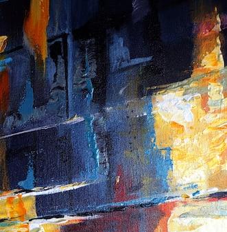 テクスチャとカラフルな絵画の抽象的な背景