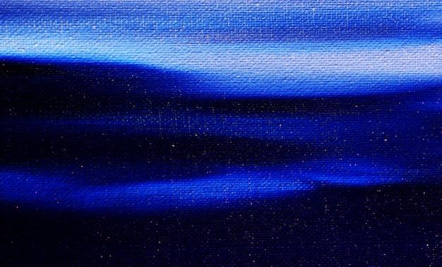 雲の抽象的な背景と青の暗いと白の油絵空。