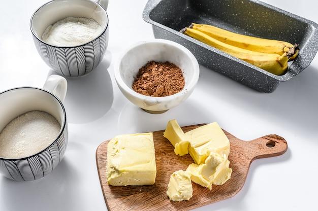 Ингредиенты для приготовления здорового печенья.