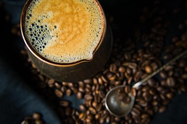 トルコ語でコーヒー、朝食。