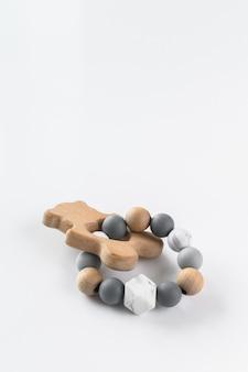 Симпатичные деревянные игрушки ручной работы для новорожденных