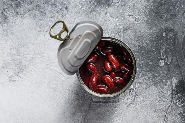 灰色の表面にインゲン豆を入れることができます。テキスト用のスペース