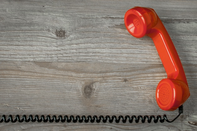 赤い受話器