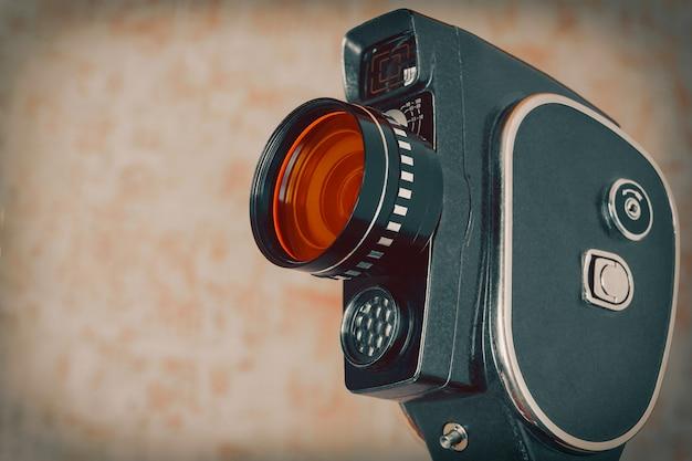 古い映画用カメラ