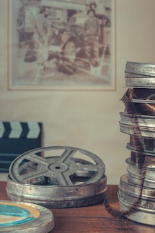 古い映画のリール