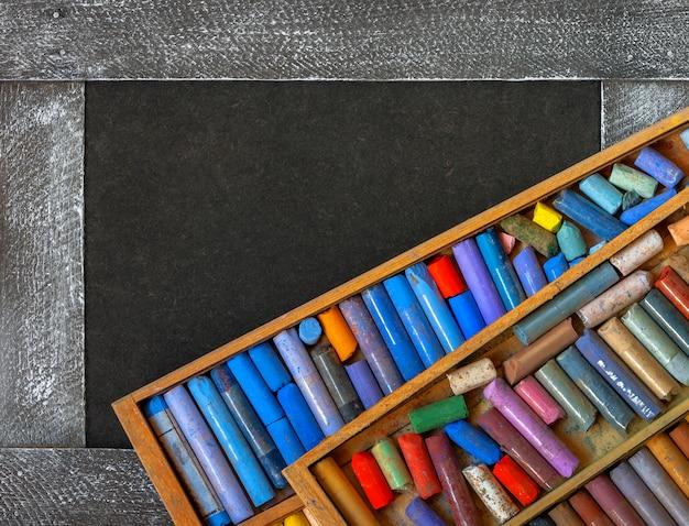 Цветные пастельные мелки