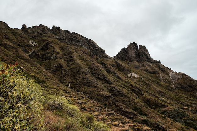 アナガカントリーパークの山脈
