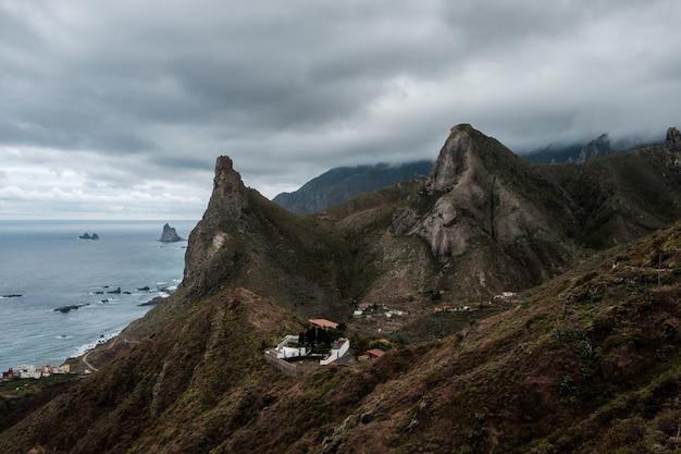 石地質山脈崖範囲自然
