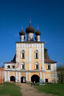 修道院。ロシア。