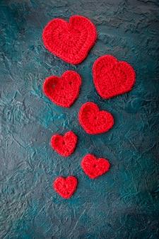 Вязание крючком валентинки