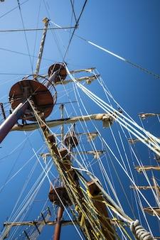 Корабельные мачты
