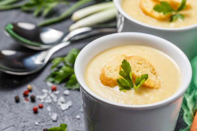 野菜スープピューレ