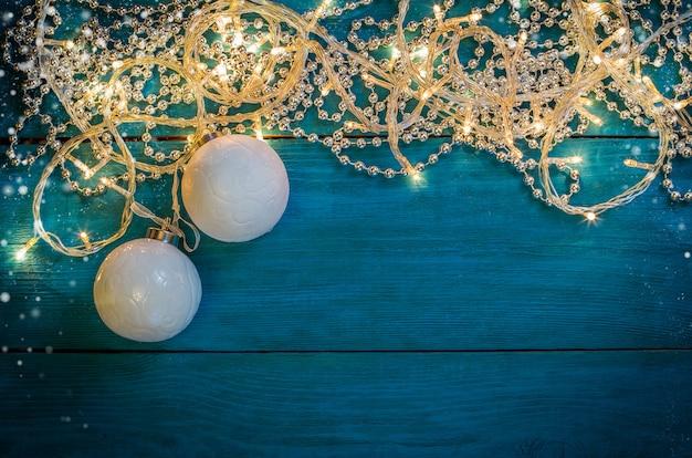 Рождественские гирлянды фонари славы