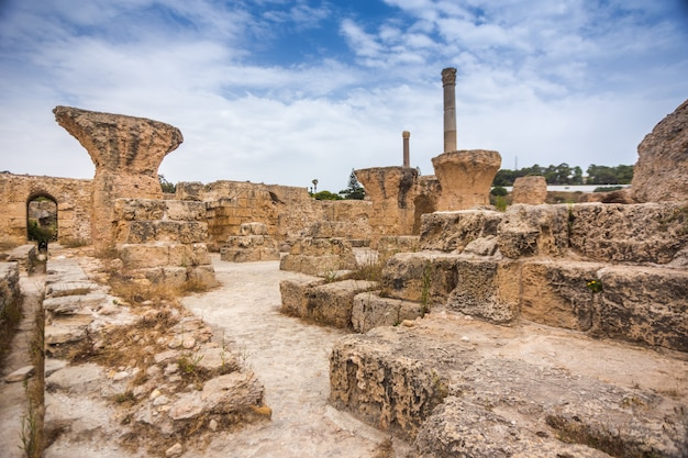 カルタゴ、チュニジア。