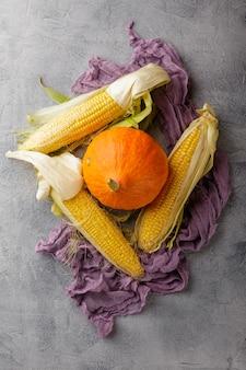 Овощи кукурузные и тыквенные