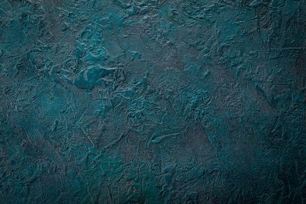 青いグランジ表面、背景
